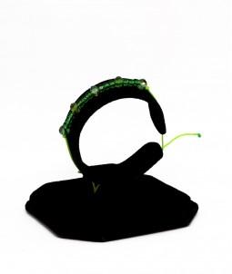 Brățară cu mărgele TOHO verzi