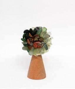Broșă flower verde