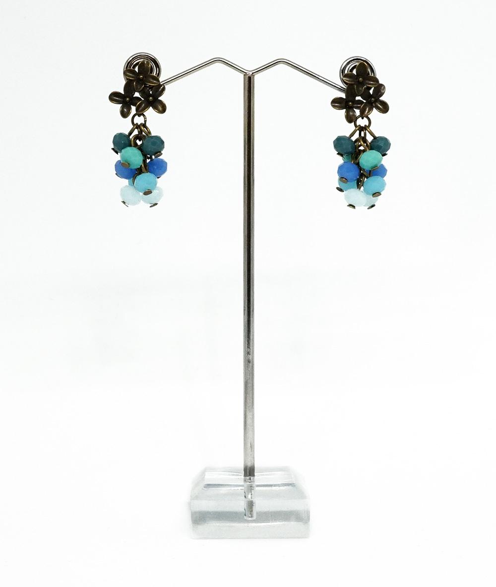 Cercei bronz turquoise