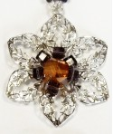 Set floral cristale