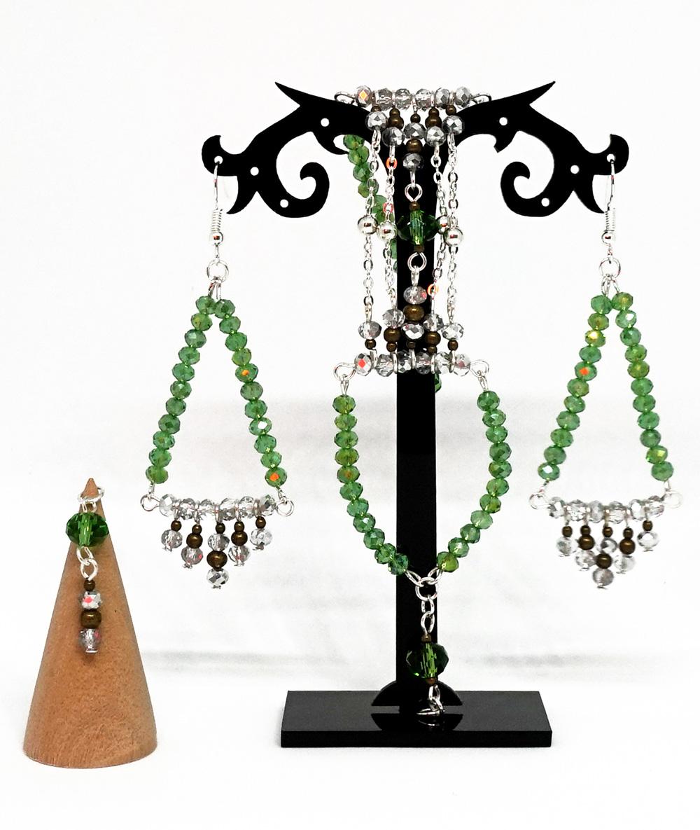 Set de sărbători romb verde