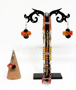 Set de sărbători portocaliu